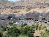 Ajanta caves area - Ajanta Caves, India.