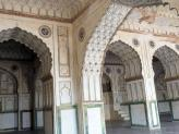 Marble constructed Taj of Deccan Mosque, India.