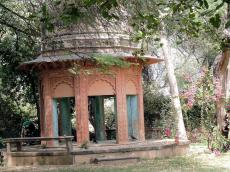The Keoladeo Shiva Temple situated in Bharatpur National Park.