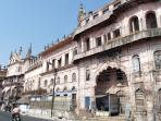 Several nice old Bhopal buildings near the City Gate.