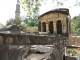 Mehrauli Archaeological Park tombs, Delhi India.