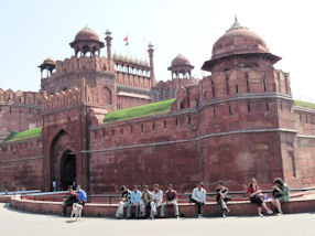 Lahore Gate - Entrance to Delhi Red Fort