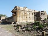 Gagron Fort and a massive internal building, India.
