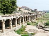 The extensive Krishna Temple complex at Hampi.