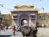 Another Pink City Gate - Jaipur