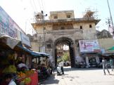 Outer gate near the market - Jhalawar, India.