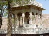 A small Cenotaph at Jaswant Thanda, Jodhpur.