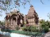 More of Mandor's beautiful Cenotaphs - near Jodhpur in India.