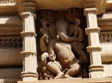 Temple carvings - Khajuraho, India.