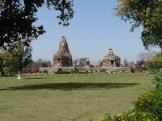 some of Khajuraho India's Jain Temples