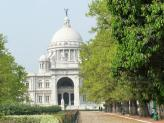 Victoria Memorial sideview, Kolkata, India.