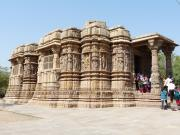 Modhera Sun Temple Assembly Hall, Gujarat, India.