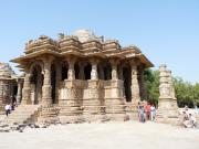 Modhera Sun Temple Entrance Hall, Gujarat, India.