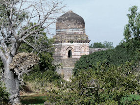 Mandu in India - really beautiful old buildings.