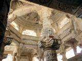 Inside Adinath Temple at Ranakpur, India