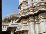 Adinath Temple outer carvings, Ranakpur, India