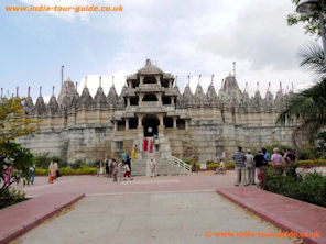 Ranakpur India - Adinath Temple.
