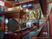 Inside the Burmese Temple, Sarnath, India.