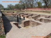 various ruins at Sarnath in India.
