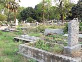 Lower Circular Road Cemetery, Calcutta, India.