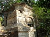 The South Park Street Cemetery Tombs in Calcutta, India.