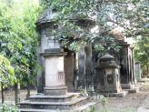 The Great Cemetery Tombs in Calcutta, India.