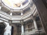 Terraces and balconies surround the well pit at Adalaj Ni Vav - India.
