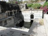 A small step well at Eklingji, India.