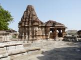 Nagda Vishnu Temple and Mandapa, Nagda, India.