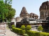 Situated in pleasant grounds - Nagda Temples - India.